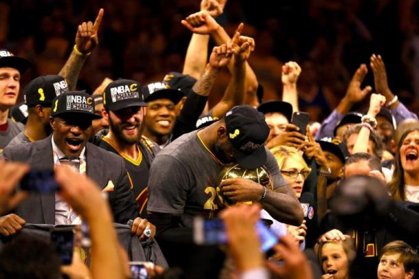 The Cavaliers have one thing on their mind and that is to repeat as NBA Champions. Photo: Ezra Shaw/Getty Images