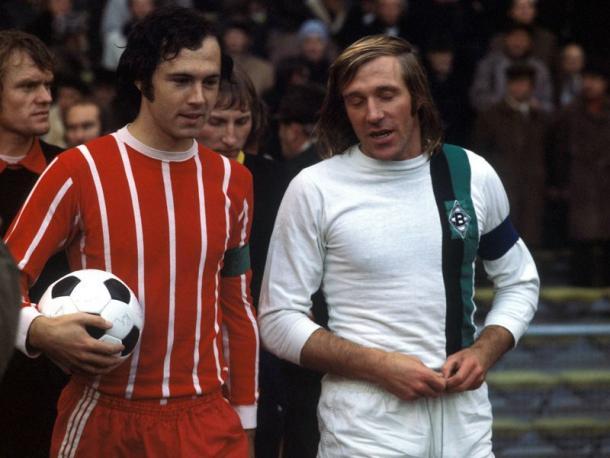 Franz Beckenbauer y Gunter Netzer | Fuente: Bundesliga