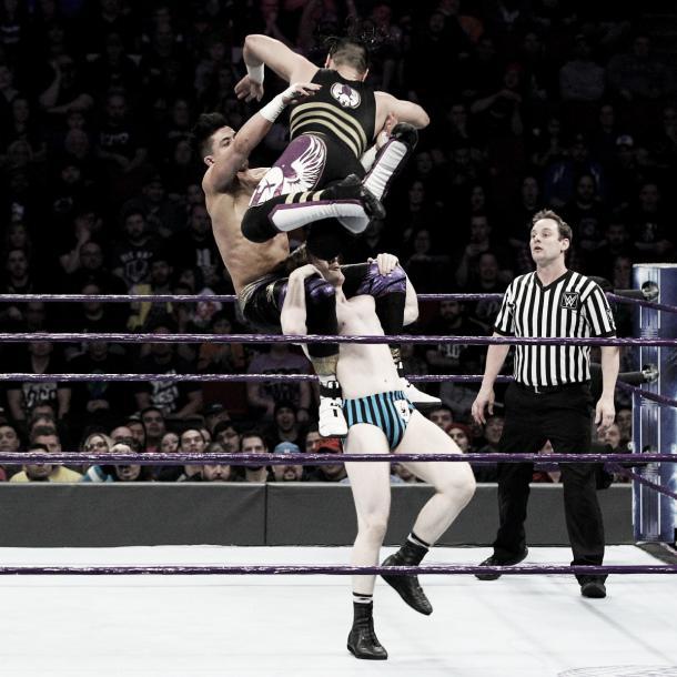Ali impressed. Photo- WWE.com