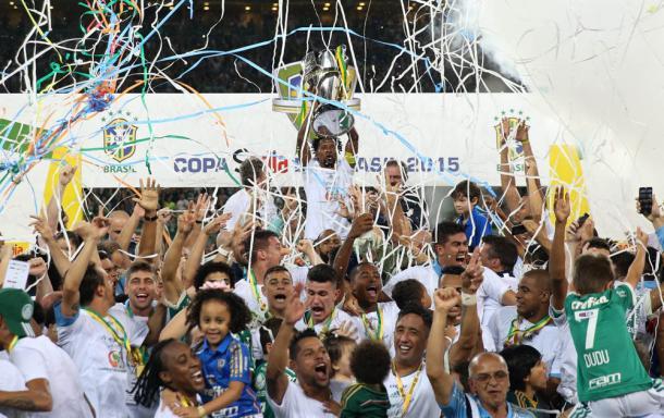 Palmeiras se tornou o time com mais títulos nacionais do Brasil ( Foto: