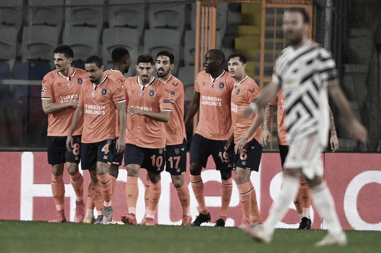Celebración del gol de Demba Ba./ Foto: Champions League