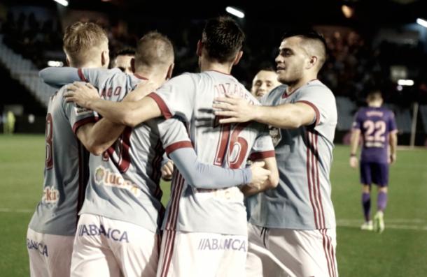 Aspas celebrando el gol ante el Leganés | EFE