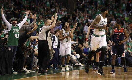 Boston Celtics guard Avery Bradley (0) reacting during the game. Photo:David Butler II-USA TODAY Sports