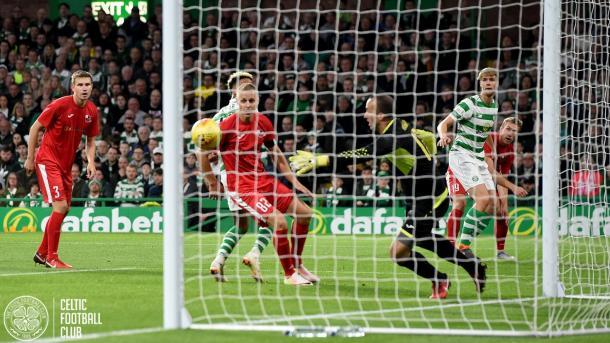 Los Bhoys se clasificaron sin apuros en Celtic Park   FOTO: Celtic