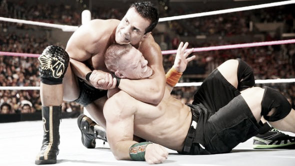 Cena feuded with various stars in the upper mid card section (image: hiddenremote.com)