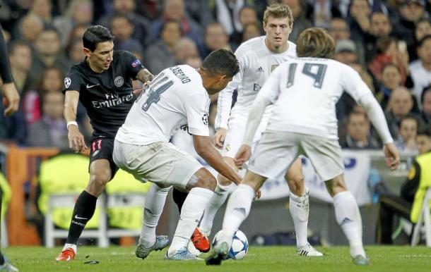 Casemiro, Modric e Kroos in azione - Foto Marca
