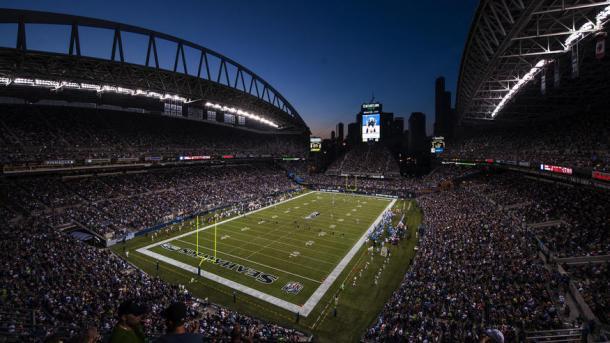 CenturyLink Field durante un partido. Fuente: Seattle Seahawks