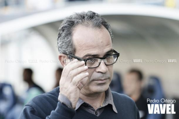 Álvaro Cervera es el gran 'culpable' del buen momento del Cádiz.   Foto: Pedro Ortega, VAVEL