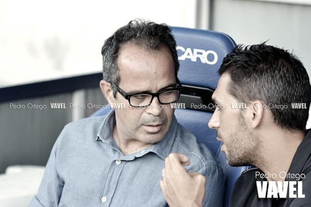 Álvaro Cervera, técnico cadista | Foto: Pedro Ortega (VAVEL)