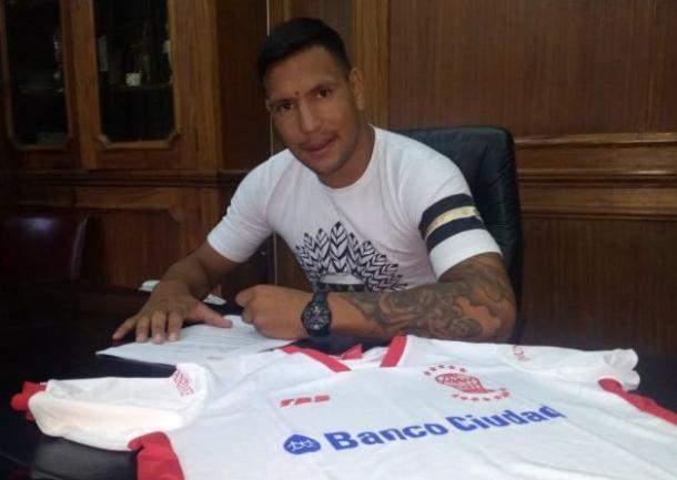 Andrés Chavez firmó para Huracán. (Foto: web)