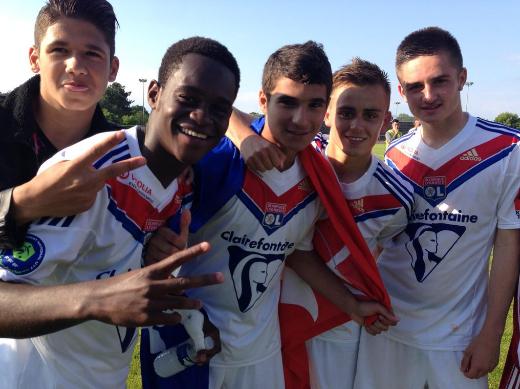 Champion de France U17 mon frère