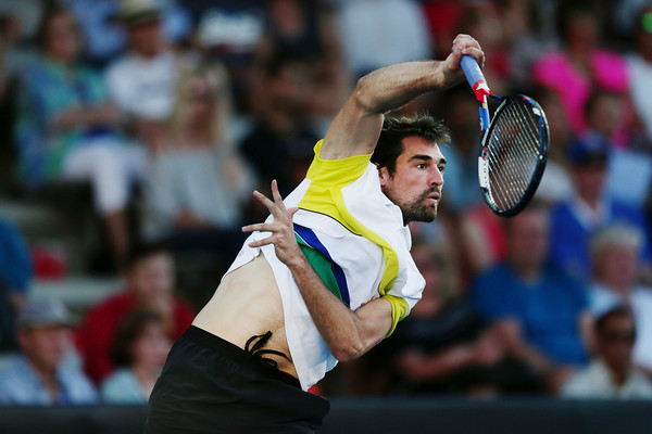 Chardy will pose a tough test for Nishikori (Photo by Anthony Au-Yeung / Getty Images)