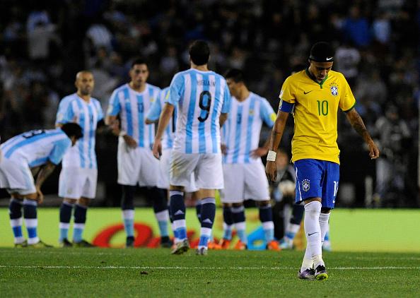 Atuação apagada e mais críticas oportunistas: Neymar viveu maus momentos sob o comando de Dunga | Foto: Charly Diaz Azcue/LatinContent/Getty Images