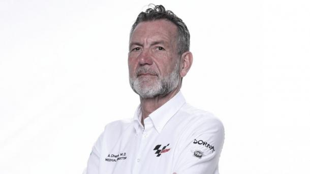 Dr. Charte, director médico del Mundial de MotoGP / Fuente: MotoGP
