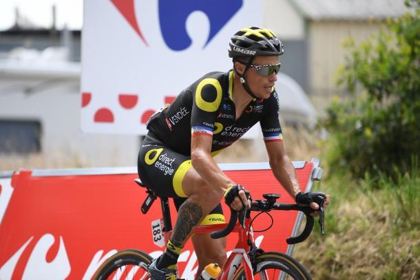 Sylvain Chavanel buscó la aventura en solitario | Fotografía: Tour de Francia