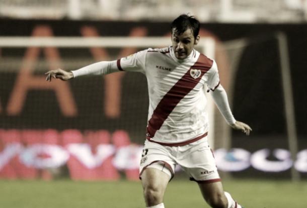 Chechu Dorado durante un encuentro con el Rayo Vallecano. Fotografía: La Liga