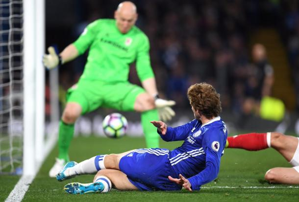 6 in stagione per Marcos Alonso. Rivelazione. | twitter@ChelseaFC