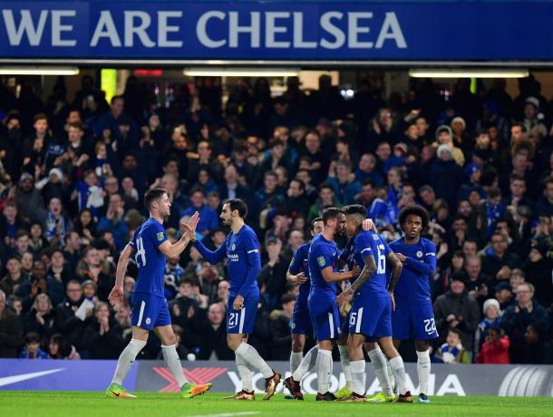 Foto Chelsea Twitter