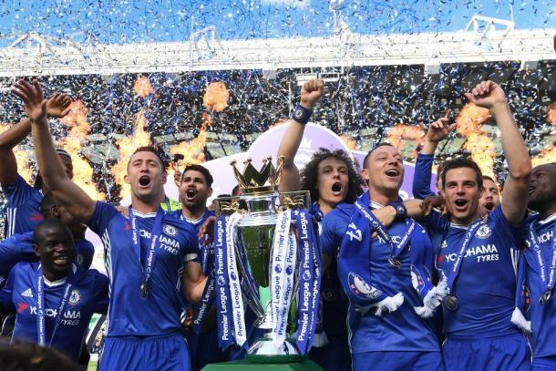 Chelsea campione d'Inghilterra 2016/17 | Foto: premierleague.com