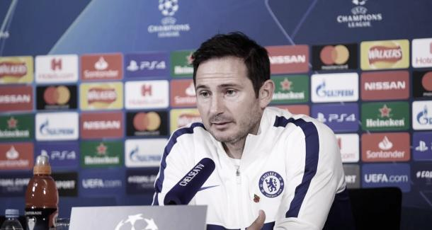 Lampard se mostró calmo antes del partido | Foto: Chelsea