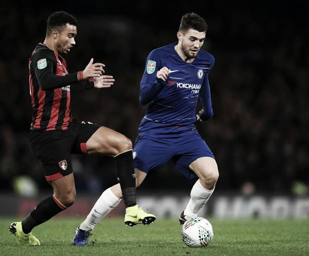 Chelsea controlou o primeiro tempo, mas não conseguiu marcar (Reprodução /Chelsea)