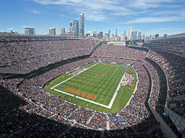 Soldier Field // Imagen: Chicago Bears