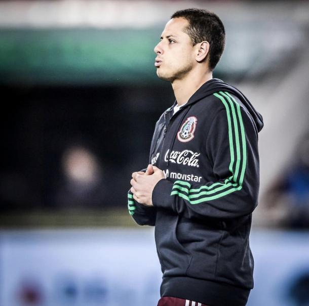 Chicharito es el hombre gol del tricolor | Foto: @WestHamEspanol
