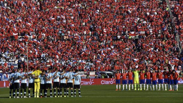 El último partido Argentina - Chile | Foto: Visión 90