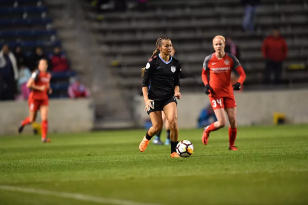 Both teams were shorthanded in the first meeting at Toyota Park. | Photo: Chicago Red Stars