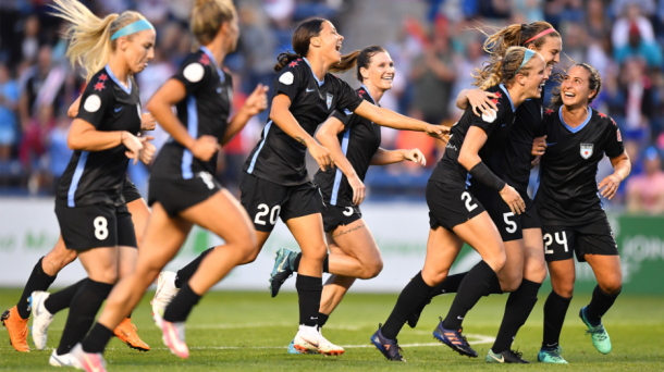 The night was full of celebration as the Red Stars maintained control for most of the game. | Photo: isiphotos.com