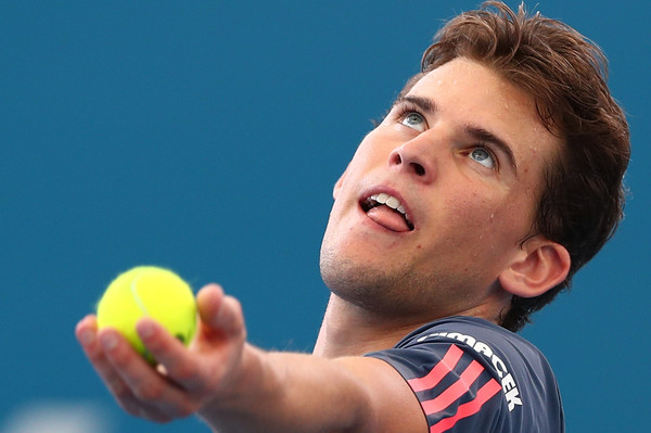 Thiem's level was outstanding in the first set (Photo by Chris Hyde/Getty Images)