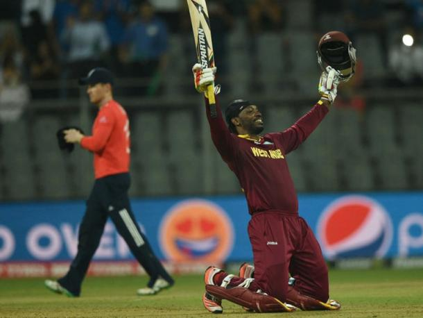 Chris Gayle was crucial last time these sides met, can he do it again on Sunday? | Photo: getty