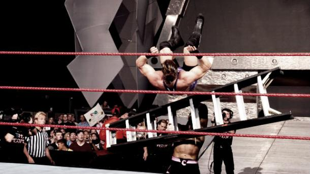Christian wanted to steal the show on Raw too. Photo- thewwehistory.weebly.com