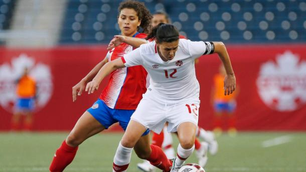 Christine Sinclair's vision is still operating at a high level | Source: cbc.ca