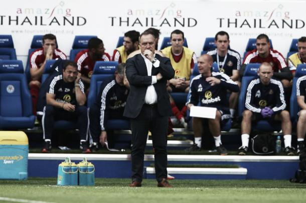 Dick Advocaat's first game of the 2015/16 season set the tone for the remainder of his reign. (Photo: Chronicle)