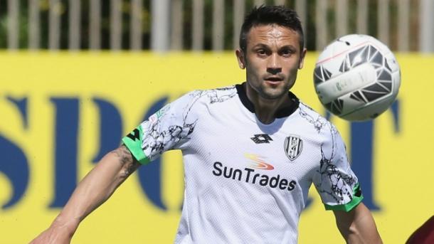 Cammillo Ciano con la maglia del Cesena. Fonte: Sportal.it