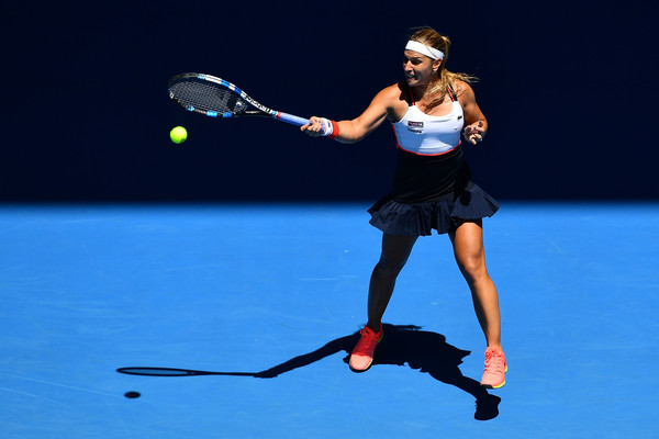 Cibulkova was unable to replicate her dream run to the final of the Australian Open in 2017 (Photo by Quinn Rooney / Getty)