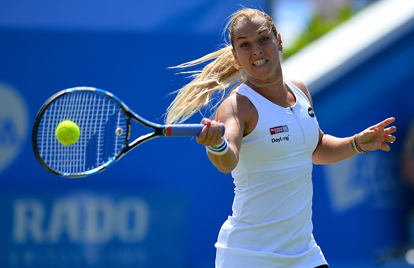 Cibulkova was get a stranglehold in this contest (Photo by Glyn Kirk / Getty)