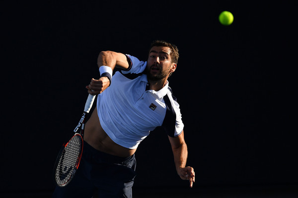 Cilic had a poor run at the first Grand Slam tournament of the year (Photo by Quinn Rooney / Getty)