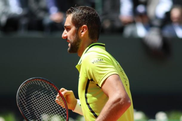Cilic is playing in his first tournament since injury (Photo: Banque Eric Sturdza Geneva Open/Vincent Mivelaz)