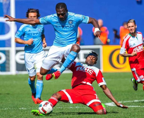 NYC FC went close in the dying stages (Getty Images)