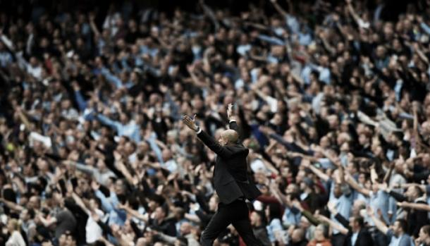 Jubilation at the Etihad in the opening fixture - Getty Images Sport/Stu Forster