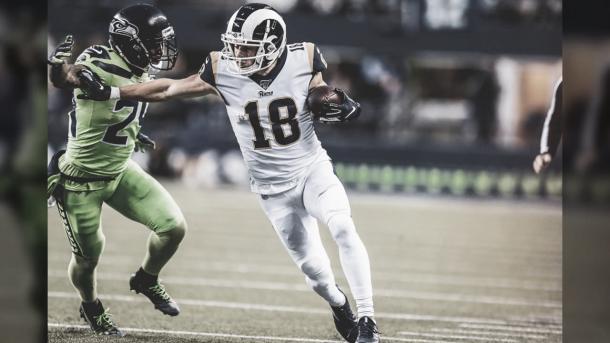 Cooper Kupp es la figura de los Rams en un plantel plagado de estrellas (foto Rams,com)
