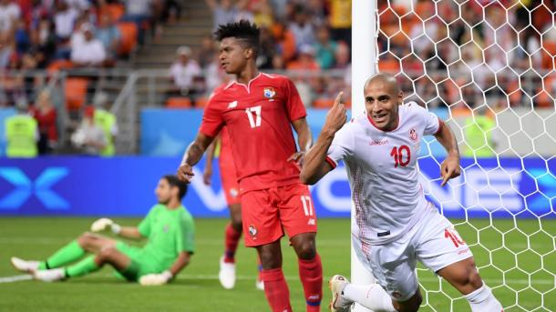 Tunisia got their first World Cup win in 40 years | Source: Getty Images via FIFA.com