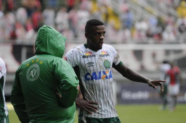 Marcelo chegou a Chapecoense para a temporada 2016 | Foto: Cleberson Silva/Chapecoense