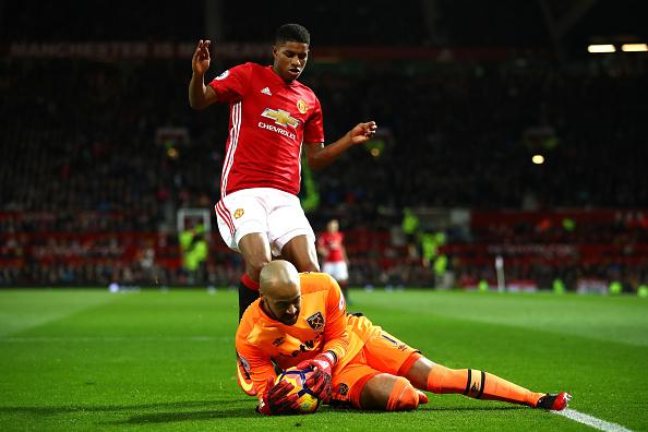 Randolph evitou derrota dos Hammers em Old Trafford com ótimas defesas | Foto: Clive Brunskill/Getty Images