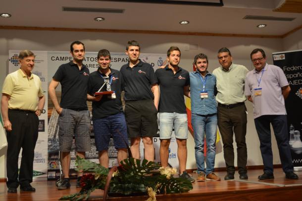 Club d'Escacs Barbera campeón en 2ª división  | FEDA