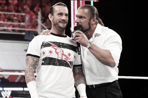 Punk hailed Levesque as one of the key reasons he left WWE(Image: wrestlingmedia.org)