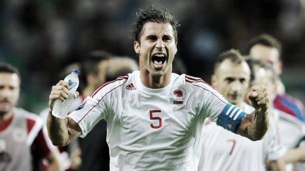 Cana va camino de leyenda en la selección albanesa | Imagen: http://nextgensports.ca/
