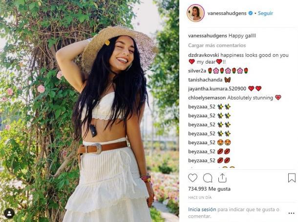 Vanessa Hudgens en Coachella | Instagram Vanessa Hudgens